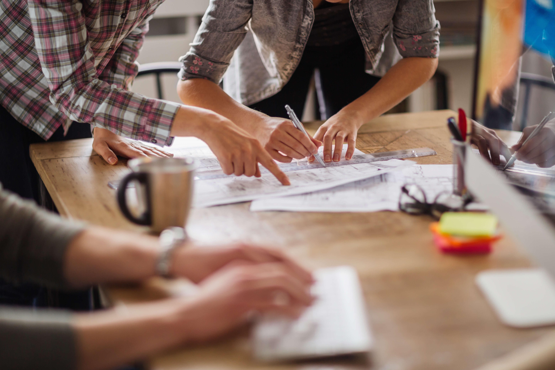 Brand strategy and digital marketing team image
